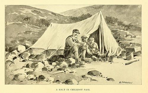 Chilkoot Pass Camp