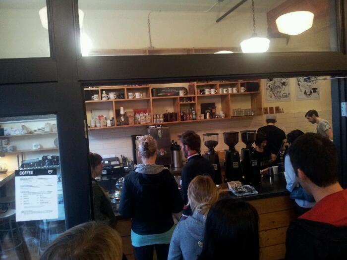 Coffee at Barista