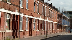 Rosebery Street in Moss Side being redeveloped as part of the Infusion Homes development.
