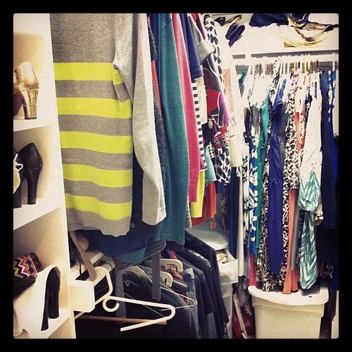 {Day 12: Closet} # #febphotoaday