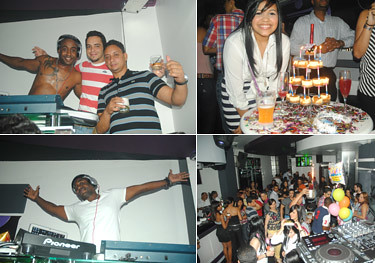 Dj Blacky & Bday Leisy Nicole @ Fridalicious Moccai Glam Club