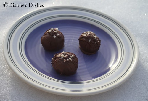 Salted Nutella Truffles