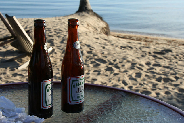 Beers in Placencia