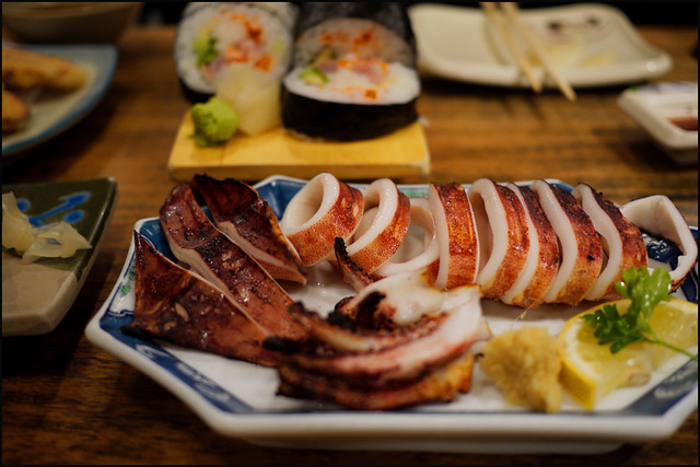 last dish at aki restaurant