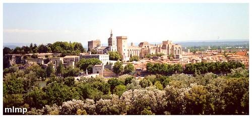 Avignon de l'autre rive