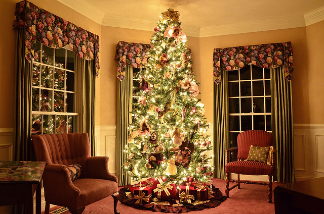 Christmas tree living room flickr photo sharing - Christmas tree in living room ...