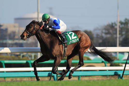 中山牝馬S勝ち馬 レディアルバローザ(福永祐一)2