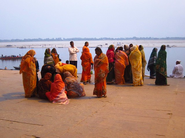 Women in Saris