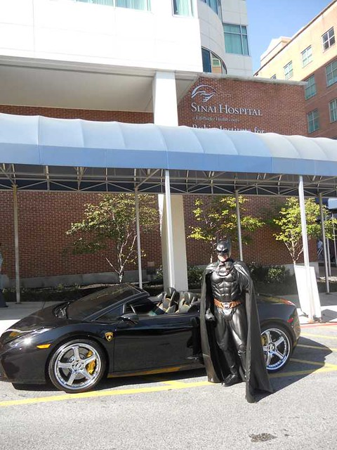 Batman at LifeBridge Health