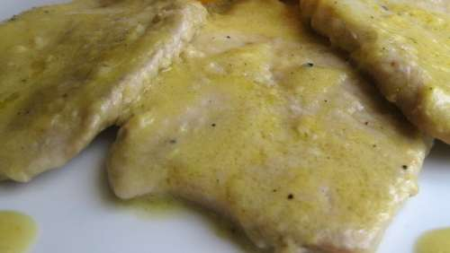 scaloppine alla bottarga