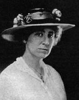 black and white photo of Jeannette Rankin