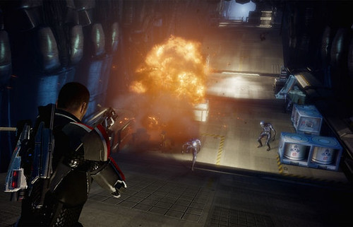 "Catch a Slice of Mass Effect 3's ""Take Earth Back"" Trailer and Multiplayer Details"