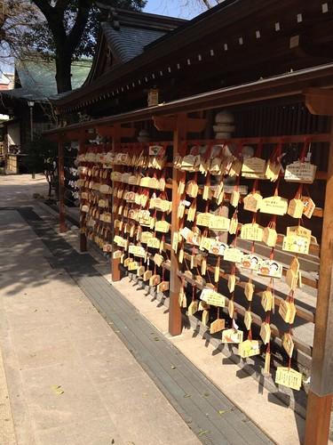 櫛田神社の絵馬