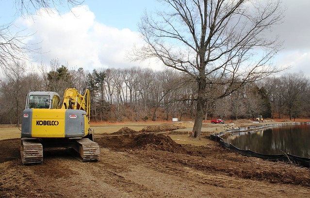 Duck Pond Construction | Flickr - Photo Sharing!