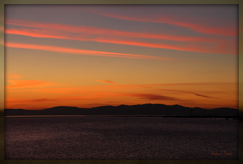 california pink sunset sky usa mountains water beautiful clouds landscape photography evening amber photo waves photographer unitedstates image horizon shoreline picture photograph vallejo twighlight sanpablobay 60d canoneos60d