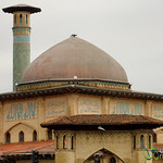 Iranian Mosque in Rasht, Iran