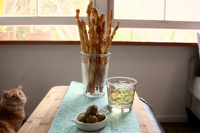 Parmesan and Herb Cheese Straws | Joy the Baker