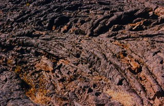 Pahoehoe lava, Craters of the Moon National Monument, ID