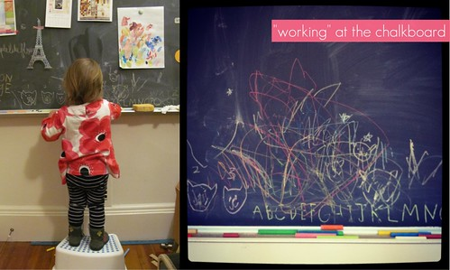 ada at the chalkboard