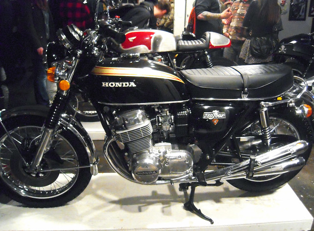 Gorgeous 1974 Honda Touring Motorcycle