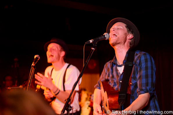 The Lumineers with Y La Bamba @ The Media Club, Vancouver, BC 4/1/12