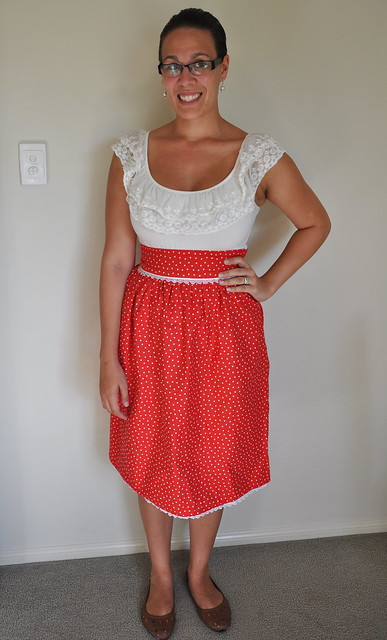 Sew Weekly - Red