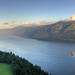 Small photo of HDR Sunset Columbia River Cape Horn
