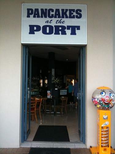 entrance to Pancakes at the Port