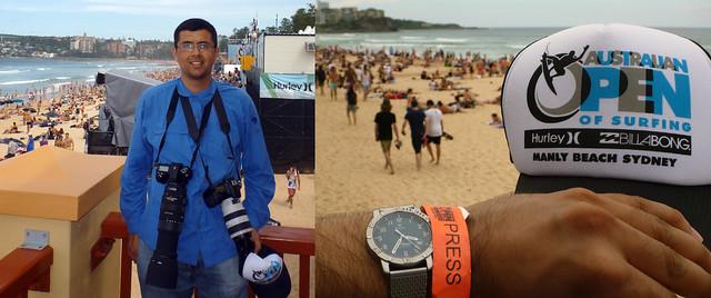Press Pass Australian Open of Surfing Manly Beach 2012