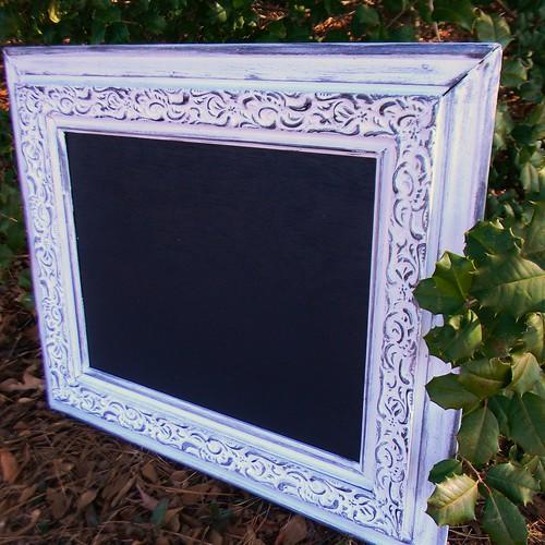 Framed Chalkboard by Misty Kelley