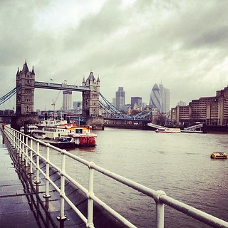 #london yesterday. Right before the rain.
