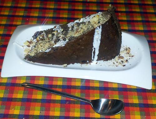 Burgos | El Jardín de Etna | Bizcocho de chocolate con frutos secos