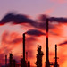 Refinery Smoke - 4x5 Velvia 50 by Zach Boumeester