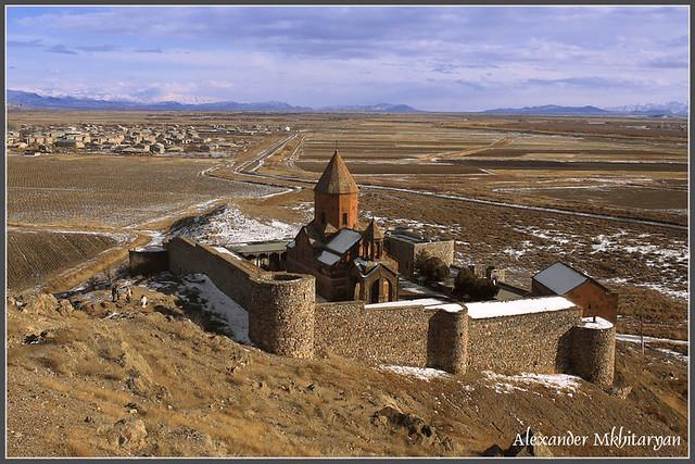 Khor Virap monastery.