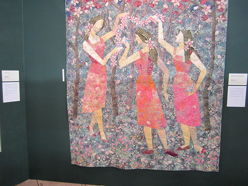 Quilt from Tokyo quilt show by City krafters