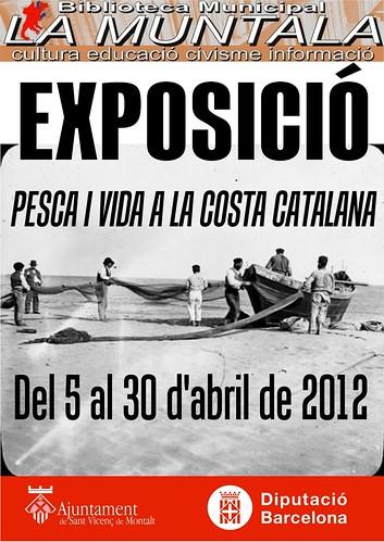 Exposició: Pesca i vida a la costa catalana @ 5 - 30 abril by bibliotecalamuntala