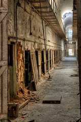 Cell block - Eastern State Penitentiary - Philadelphia, Pa