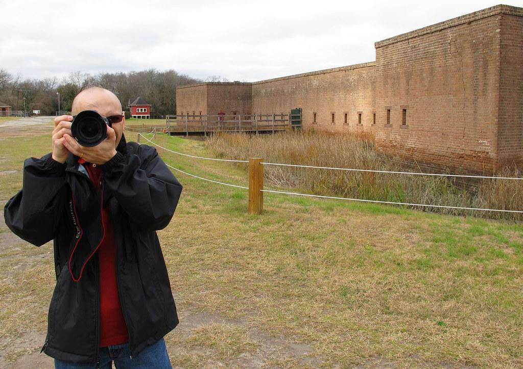 Me at Fort Jackson, GA