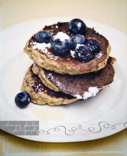 Blueberry and Banana Pancakes