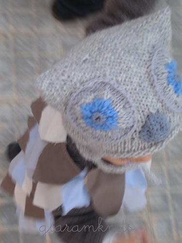disfraz bebé buho diy owl baby costume
