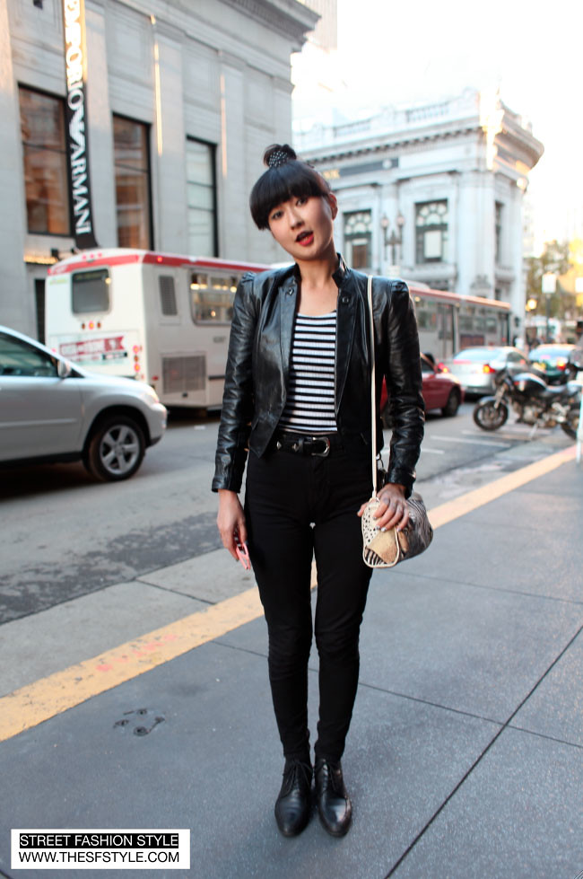 ringo1 zebra, black on black, sf, san francisco, street fashion style,