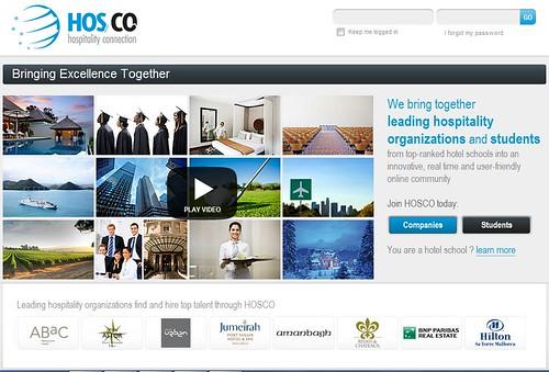 Hosco.com: la nouvelle plateforme de recrutement des écoles hôtelières