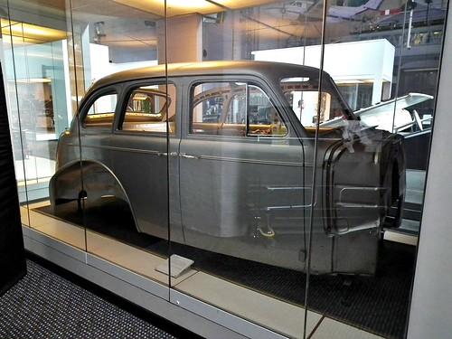 1939 Chevrolet Master body cutaway