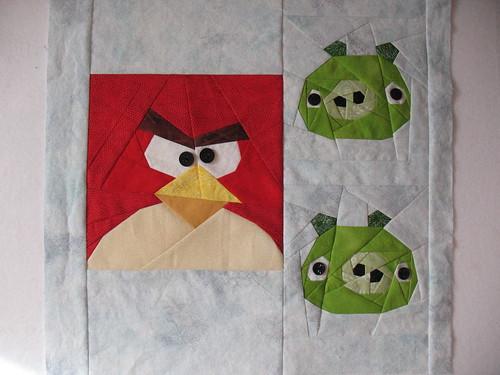 Angry Bird Block