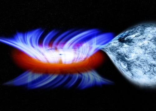 Wind blowing off a stellar mass black hole