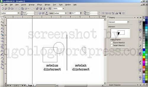 Mengenal Fasilitas Shaping Pada Corel Draw4