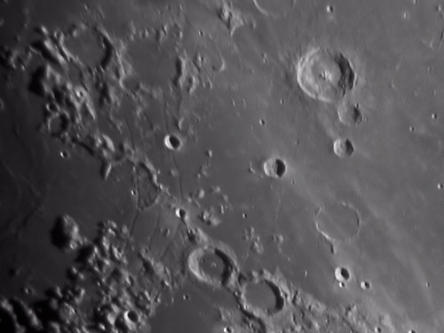 Hippalus, Kies and Bullialdus region of the Moon 3 March 2012