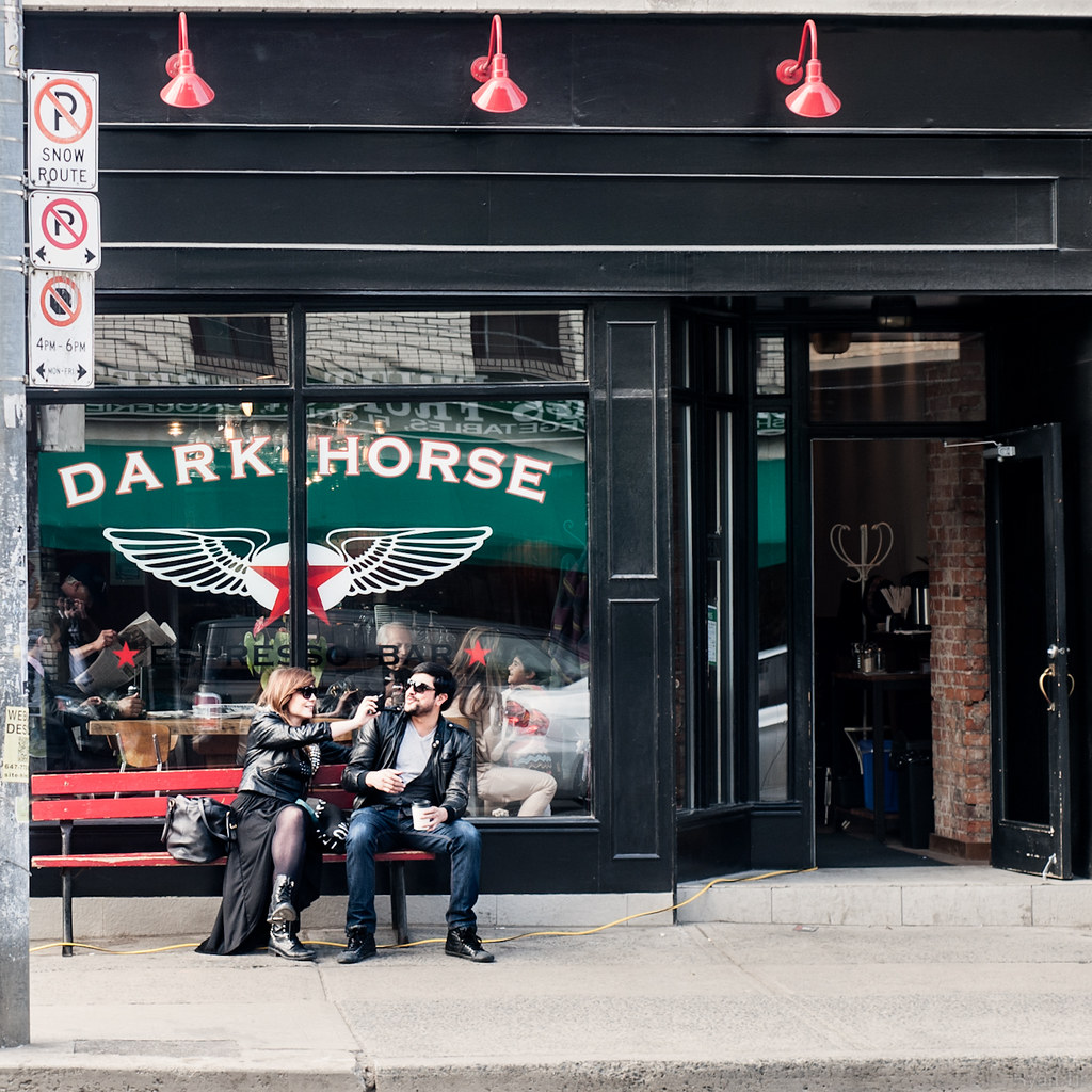 Dark Horse Coffee, Toronto - Photo by Ryan Tir
