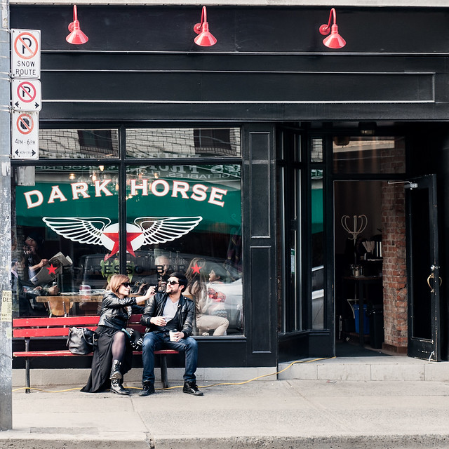 the dark horse, coffeeshop, cafe in toronto, things to do in toronto