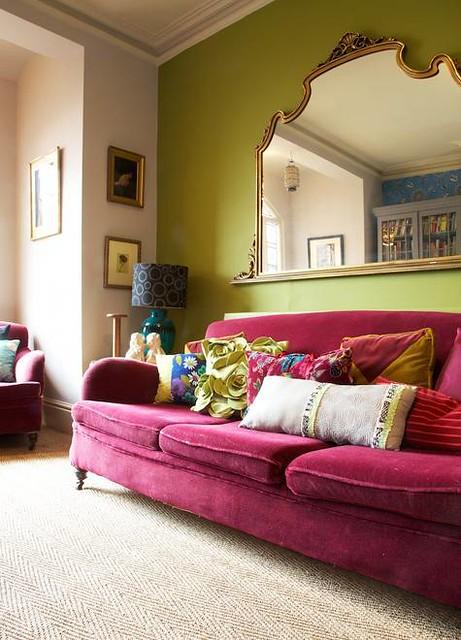 karen barlow velvet couch